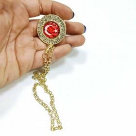 Taşlı Figürlü Emzik Zinciri - Türkiye