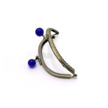 Metal Çanta Sapı 9 cm Oval Mavi