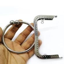 Çanta Sapları Metal Oval Başlıklı - Nikel