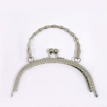 Metal Çanta Sapı 16 cm Nikel