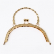 Metal Çanta Sapı 16 cm Altın