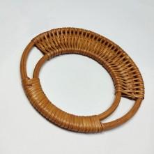 Doğal Bambu Çanta Sapı - Açık Kahve