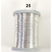 Açık Gümüş Filografi Teli 40 No - 25