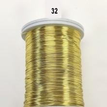 Rose Sarı Filografi Teli 40 No - 32