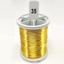 Filografi Teli Koyu Sarı  80 No -  50gr - 35