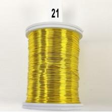 Janjan Sarı Filografi Teli 30 No - 100gr - 21