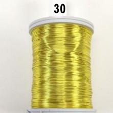 Janjan Sarı Filografi Teli 30 No - 100gr - 30