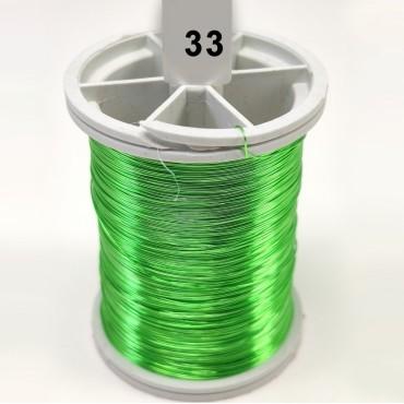 Açık Yeşil Filografi Teli 30 No - 100gr - 33