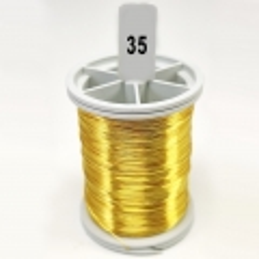 Koyu Sarı  Filografi Teli 30 No - 100gr - 35