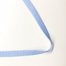 Toptan Puantiyeler Biye - 3 Cm Bebe Mavisi Biyetex