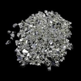 Cam Kırığı Gümüş Teneke Havyar - KALIN