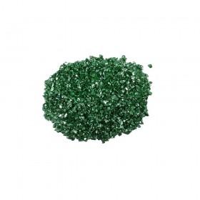 Cam Kırığı Zümrüt Yeşili Teneke Havyar - İNCE