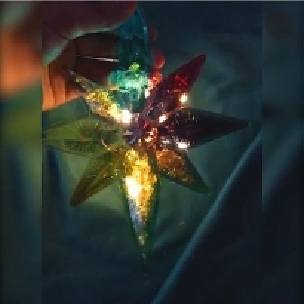 Yıldız Epoksi Silikon Kalıbı - 914