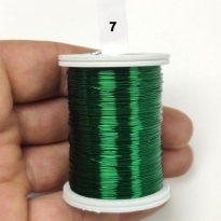 Koyu Yeşil  Filografi Teli  30 No-7