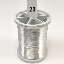 Açık Gümüş Filografi Teli 30 No - 23