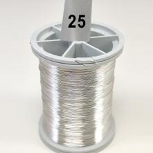 Gümüş Filografi Teli 30 No - 25