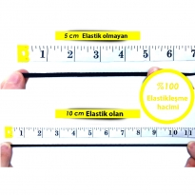 4mm Beyaz Bebe Lastik - 5 Metre