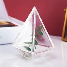 Dörtgen Piramit Reçine Epoksi Kalıp - 901