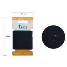 25mm Siyah Bebe Lastik - 3 Metre