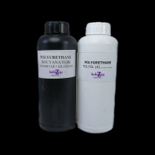 Poliüretan Reçine (Döküm Tipi Sıvı Plastik) 1+1 / 2 Kilogram