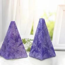Piramit Mum Silikon Kalıbı 109