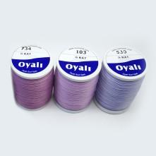 6 Kat Oyalı Suni İpek - Renk Seçmeli