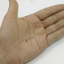 Minik Vida  - Reçine Epoksi Takı Gümüş Küçük