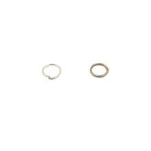 Kolye küpe halkası Renk seçmeli - Gold Bakır