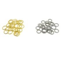 Kolye küpe halkası Renk seçmeli - Gold Gümüş