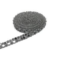 Ütü İle Yapışan Savaroski Taşlar - Gümüş Janjan