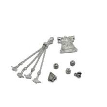 Tesbih Seti Gümüş Çan Model Model