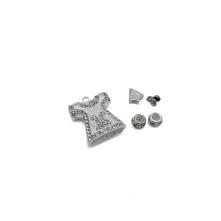Tesbih Seti Gümüş Çan Figürü Model - Toptan