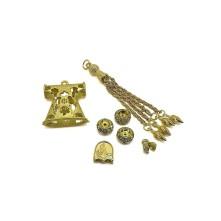 Tesbih Seti Gold Çan Figürü Model