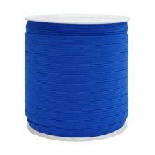 1250 Metre - 12 mm Koyu Mavi Yassı Lastik
