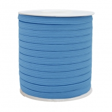 1250 Metre - 12 mm Bebe Mavisi Yassı Lastik
