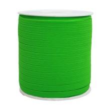 12 mm Neon Yeşil Yassı Lastik - 50 Metre