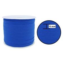 1250 Metre - 15 mm Koyu Mavi Yassı Lastik