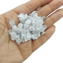 Tekstil Oya Beyaz Plastik Pul - 50 Gr 100 Gr