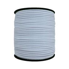 3 mm Beyaz Yassı Lastik - 10 Metre