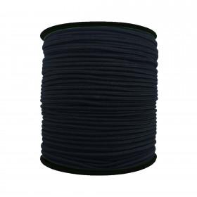 250 Metre - 3 mm Siyah Yuvarlak Lastik
