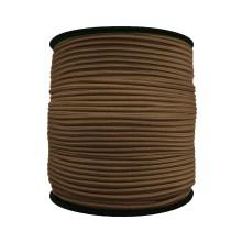 3 mm Kahve Yassı Lastik - 10 Metre