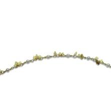 Kuyumcu Zinciri Yaprak İnci Model