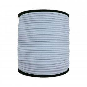 3 mm Beyaz Yassı Lastik - 100 Metre