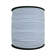 2500 Metre - 3 mm Beyaz Yuvarlak Lastik