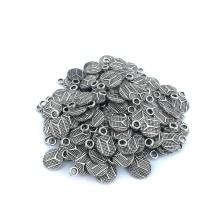 Metal Kolye Küpe Ucu - Gümüş