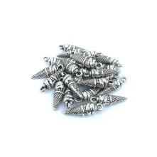 Metal Kolye Küpe Ucu - Damla Gümüş Toptan
