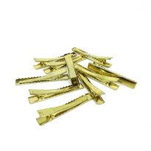 Reçine Epoksi Takı Kıskacı - Gold