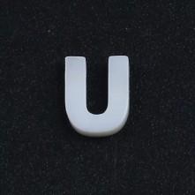 Mermer Kolye Küpe Ucu - U HARF