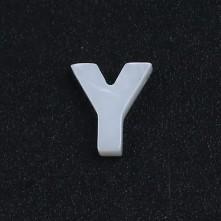Mermer Kolye Küpe Ucu - Y HARF