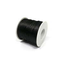 Yerli Paraşüt İpi 0.8 mm - Siyah